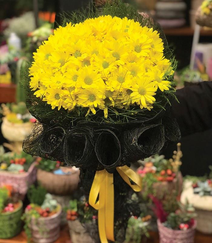 Sarı Papatya Buketi